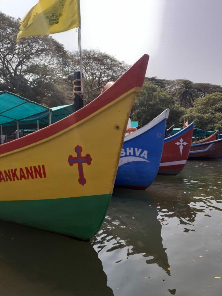 Boats Fort Aguada Goa