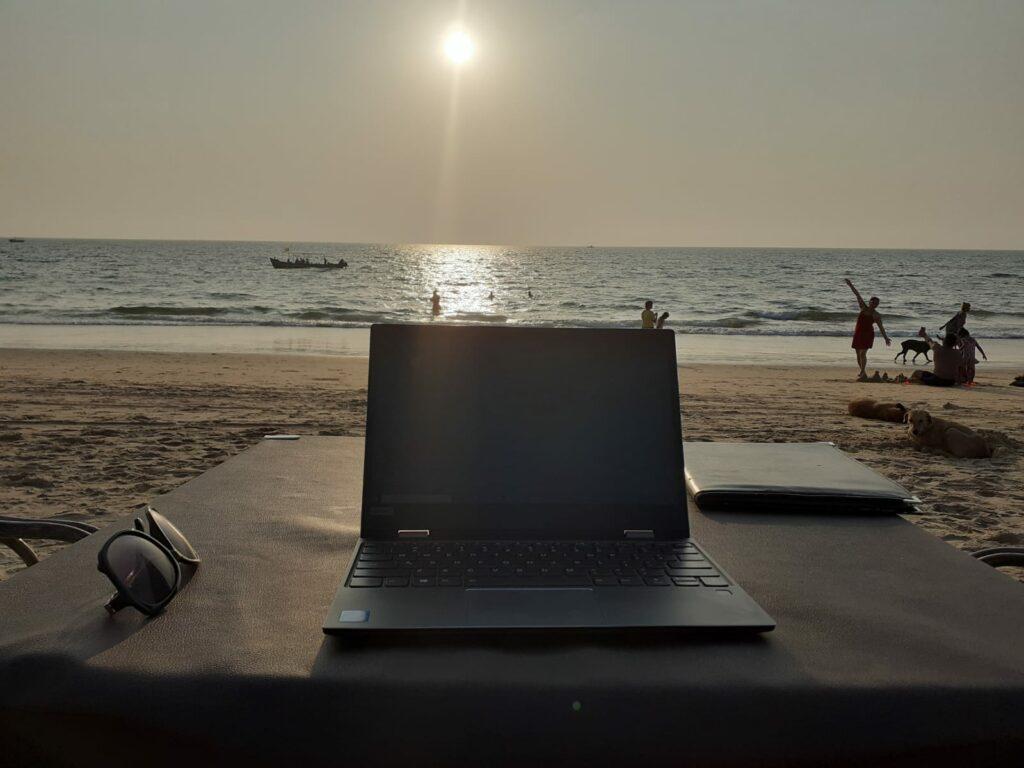 Sunset Calangute Beach 1
