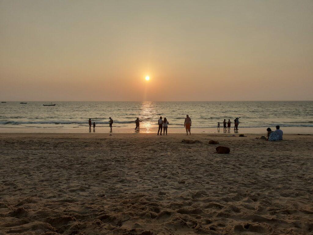 Sunset Calangute Beach 2