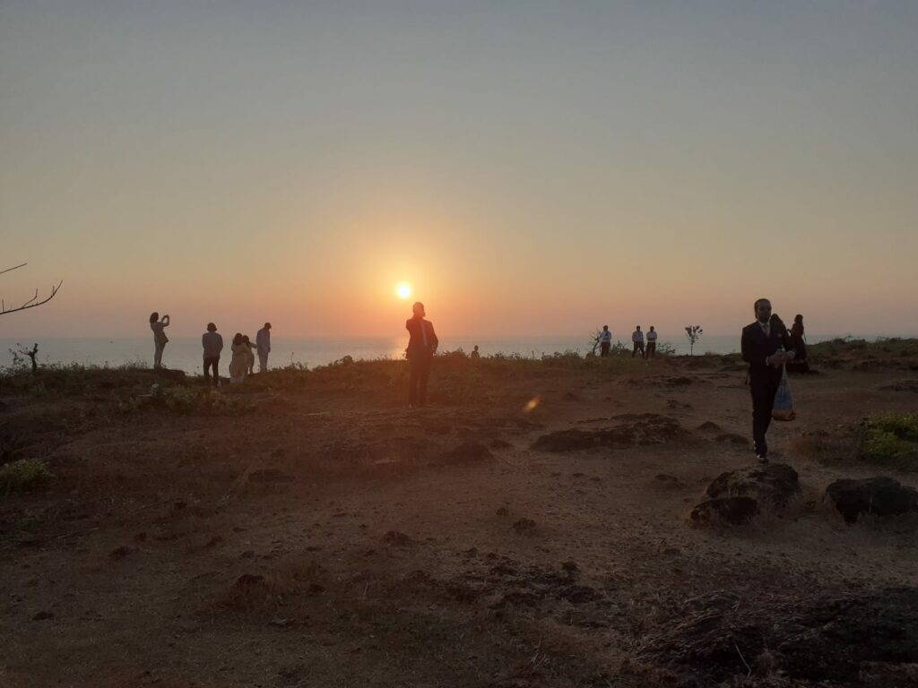 Sunset Fort Tiracol  Goa